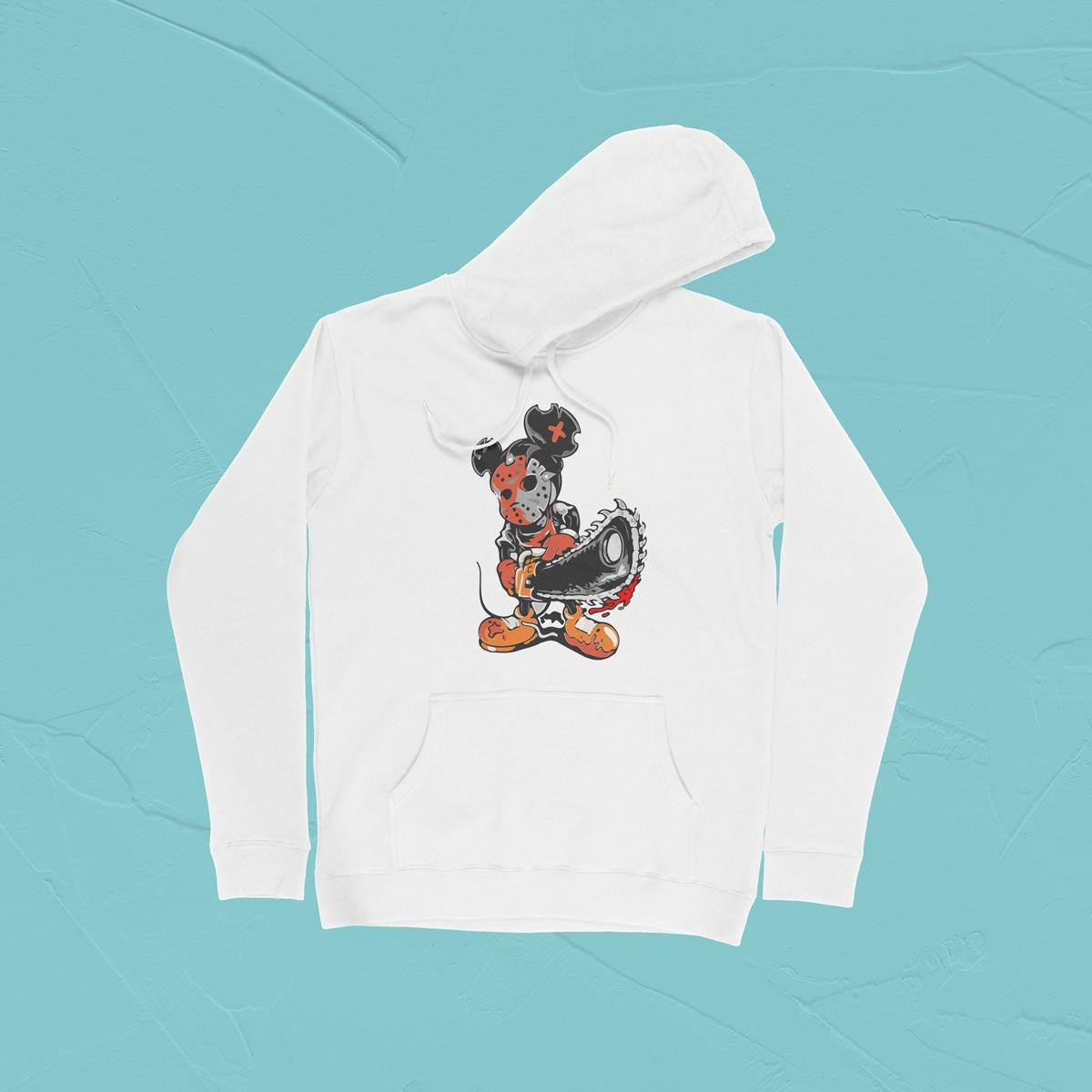 IMAGE-PRODUCT-MICKEY PULLOVER HOODIE