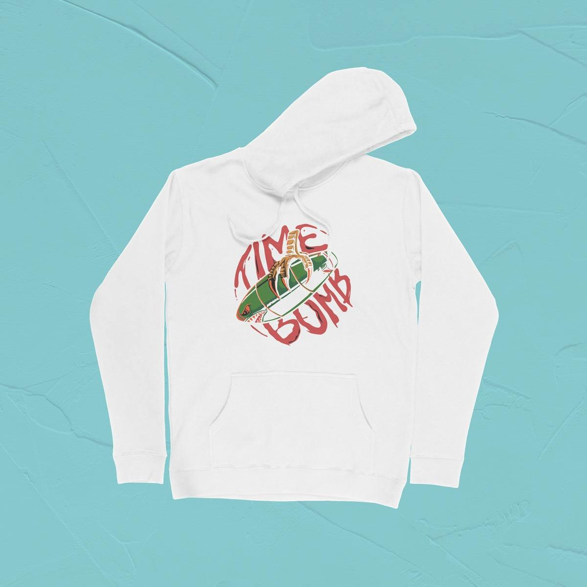 IMAGE-PRODUCT-TIME BOMB PULLOVER HOODIE